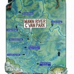 Mann River Map